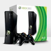 Console Xbox 360 4GB + 2 Controles Wireless