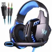 Headset Gamer Profissional Kotion Each G2000 Azul