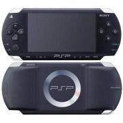 PSP-3006 Sony Piano Black Playstation Portatil + Cartão de Memória c/ 168Jogos