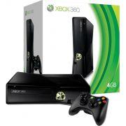 Xbox 360 Slim + 1 jogo