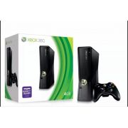 Xbox 360 Slim + Kinect + 2 jogos