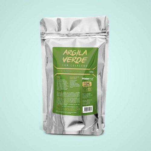 Argila Verde Com Colageno - Mister Hair - 500g