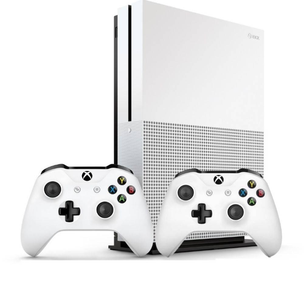 Console Xbox One S 1tb Com 2 Controles-microsoft