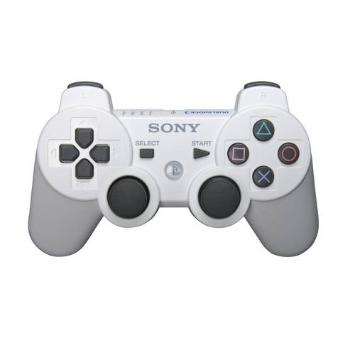 Controle Ps3 Dualshock 3 Bluetooth Ou USB Playstation 3 Branco