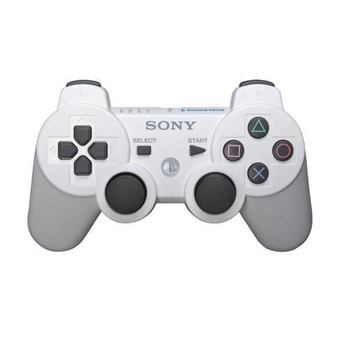 Controle Ps3 Dualshock 3 Bluetooth Ou USB Playstation 3 Branco