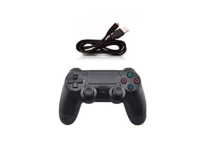 Controle Ps4 Playstation 4 Com Fio Video Game Pc USB Original Knup
