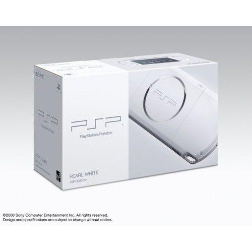 CÓPIA - PSP-3006 Sony Branco Playstation Portatil + Cartão de Memória c/ 168Jogos