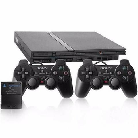 Playstation 2 Slim Matrix + 3000 jogos