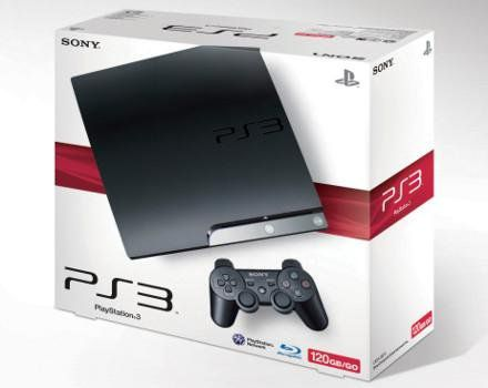 PS3 SLIM 120 GB MOSTRUÁRIO