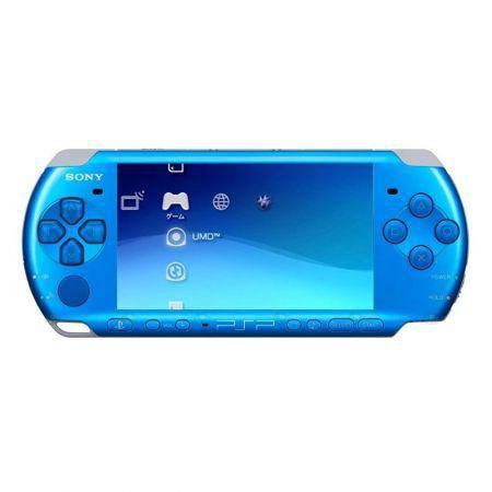 PSP-3006 Sony Azul Playstation Portátil + Cartão de Memória c/ 118Jogos