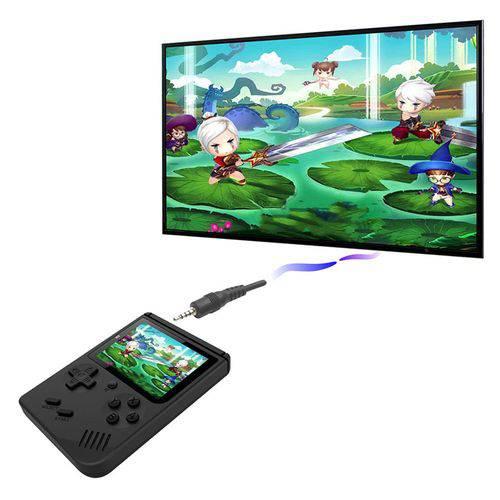 Video Game Portatil 400 Jogos Internos - Mini Game Sup Game Box Plus AMARELO