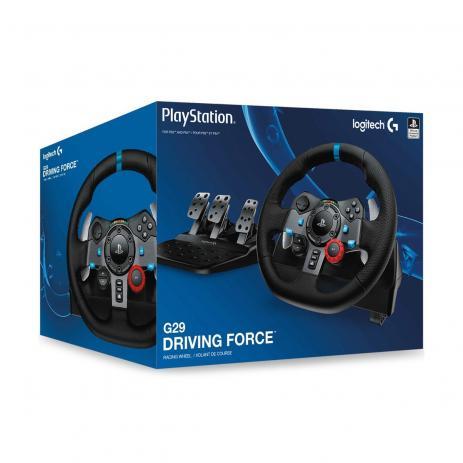 Volante Gamer G29 - PS4 PS3 e PC - Logitech