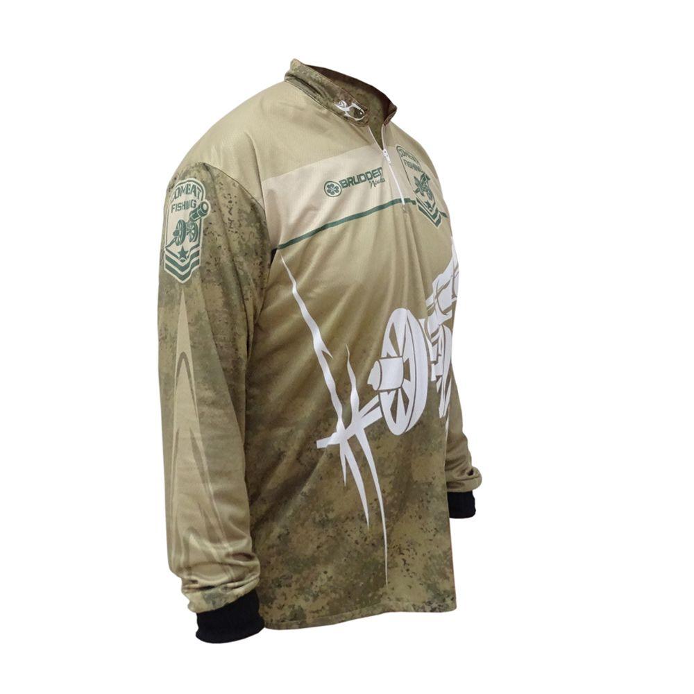 Camisa Combat Fishing Brudden Náutica