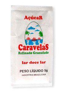 Açúcar Sachê Caravelas c/ 400