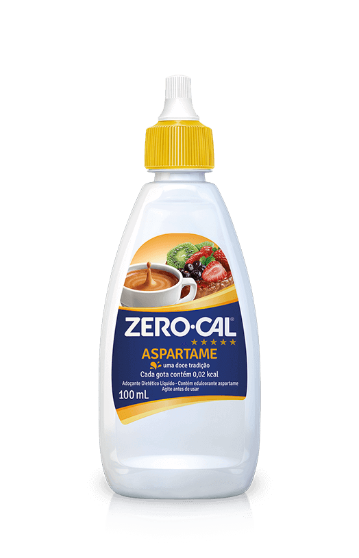 Adoçante Líquido ZeroCal 100 mL Aspartame