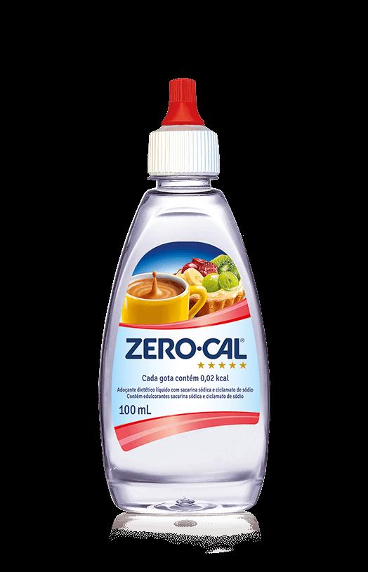 Adoçante Líquido ZeroCal 100 mL Sacarina