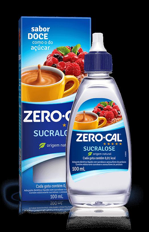 Adoçante Líquido ZeroCal 100 mL Sucralose