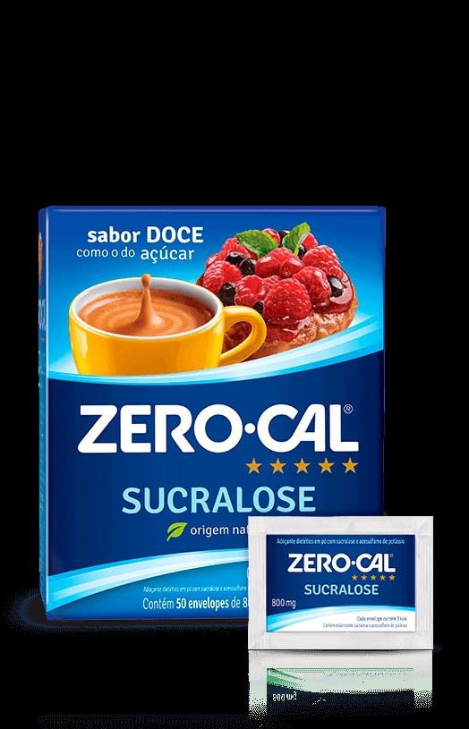 Adoçante Sachê ZeroCal c/ 50 Sucralose