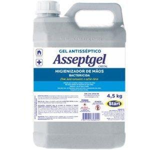 Álcool em Gel para as Mãos Asseptgel Start 5 litros