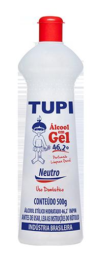 Álcool em Gel Tupi 46º | Fragrâncias
