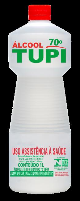 Álcool para Limpeza Tupi 70º