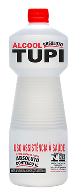 Álcool para Limpeza Tupi 99º Absoluto