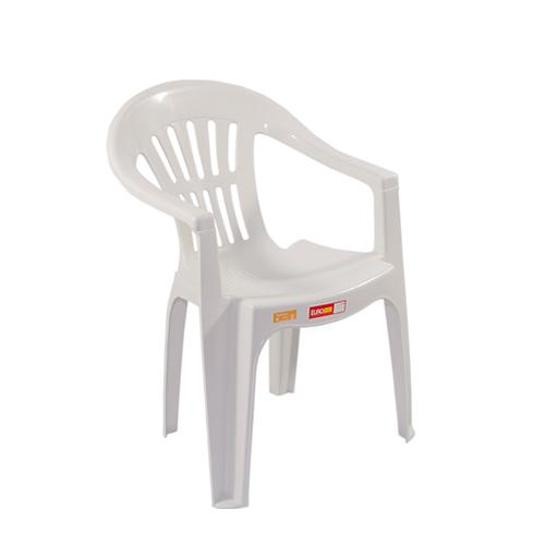 Cadeira Plástica Poltrona EuroPlast Dunnas