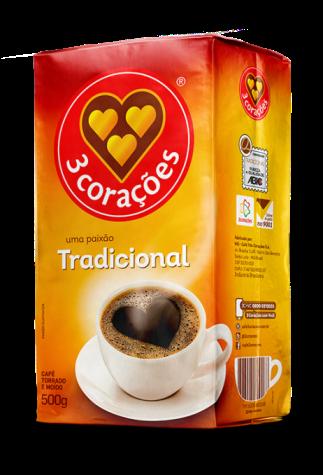 Café em Pó 500g 3 Corações