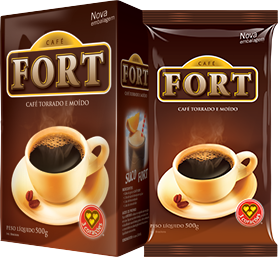 Café em Pó 500g 3 Corações Fort