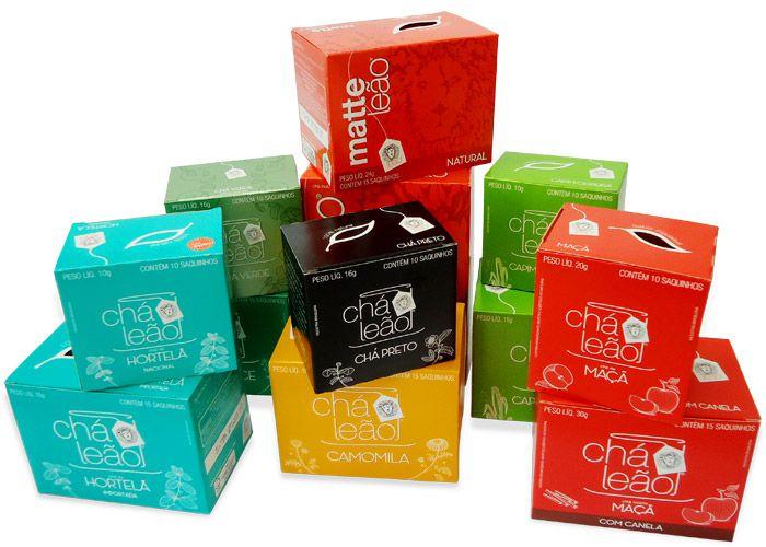 Chá Leão - Sabores