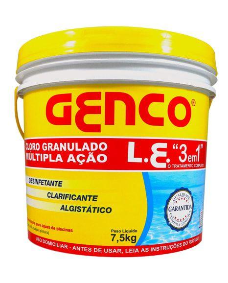 Cloro Genco 10 Kg 3 em 1