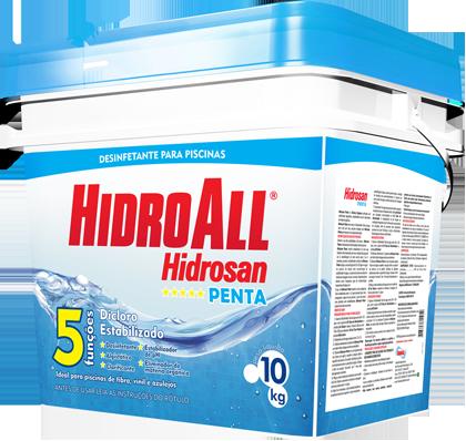 Cloro Hidroall Penta 10 Kg