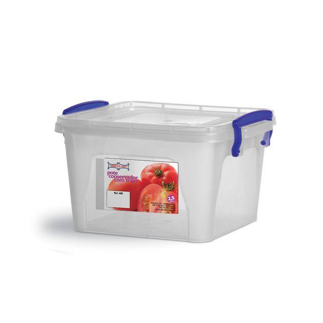 Container 2,5 Litros Niquelart
