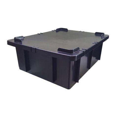 Container Attuale Industrial Preto - 15 / 36 / 130 / 180 litros