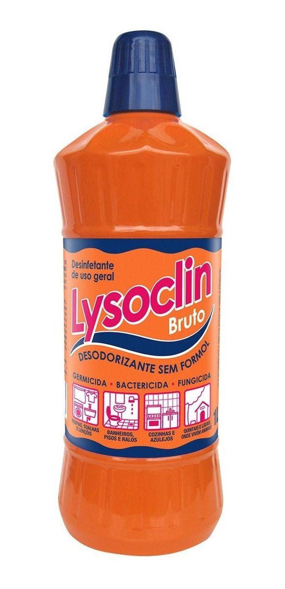 Desinfetante Lysoclin Bactericida