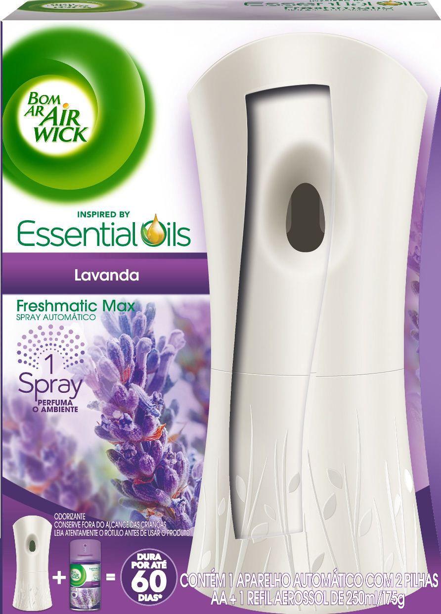 Desodorizador de Ar Bom Ar Air Wick Freshmatic Automático