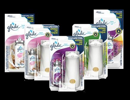 Desodorizador de Ar Glade Toque de Frescor | Fragrâncias