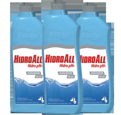 Elevador de pH para Piscina Hidroall PH+