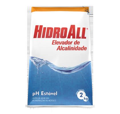 Estabilizador e Elevador de pH para Piscina Hidroal
