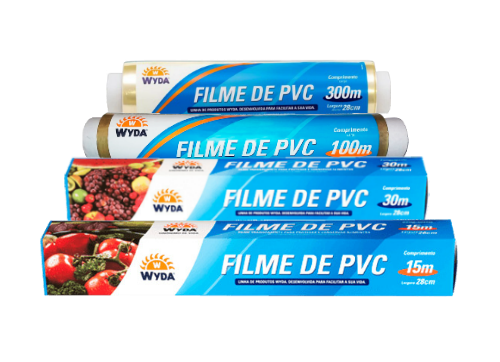 Filme de PVC | Magipack | Filme Plástico - Tamanhos