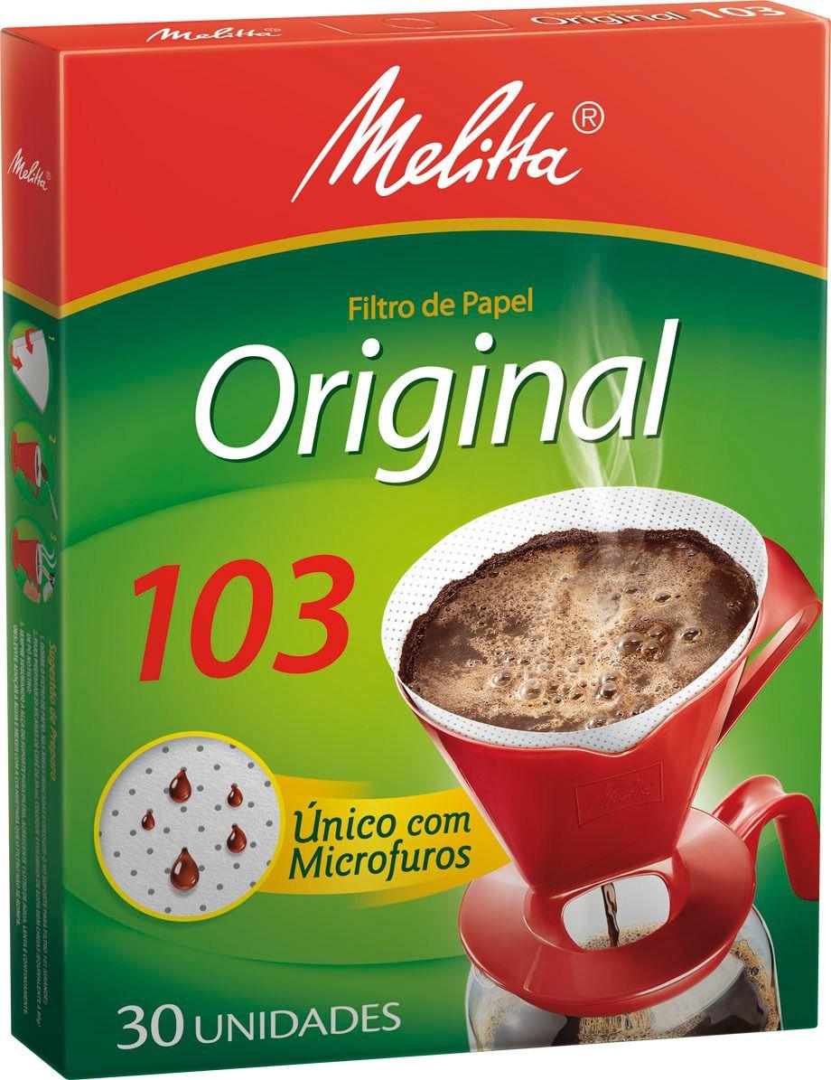 Filtro para Café Melitta |100 | 102 | 103 | n°2 | nº4