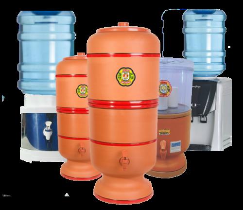 Filtros de Água | Barro | Suporte para Galão