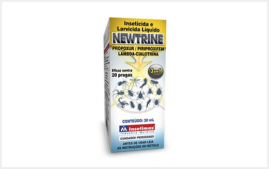 Inseticidas Newtrine 30 mL (Faz 5 Litros)