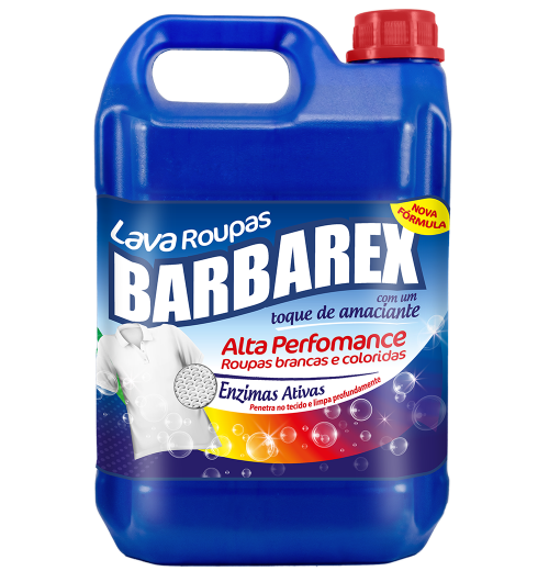 Lava Roupas Líquido | Sabão Líquido Barbarex
