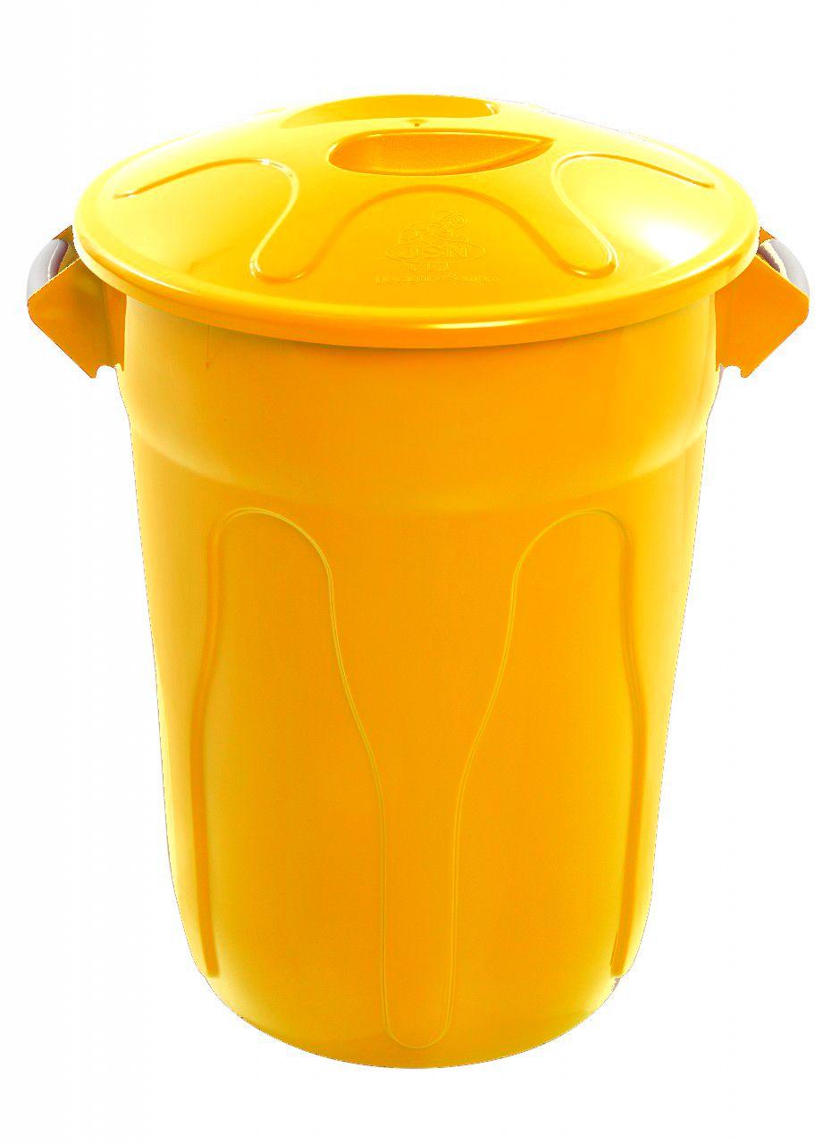 Lixeira Com Tampa JSN Colorida - 20 / 40 / 60 / 100 litros