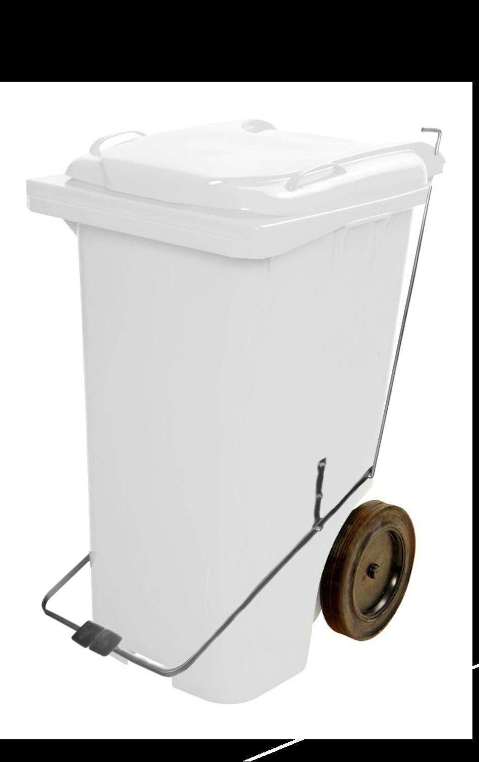Lixeira Gari com Pedal JSN Colorida - 120 / 240 litros