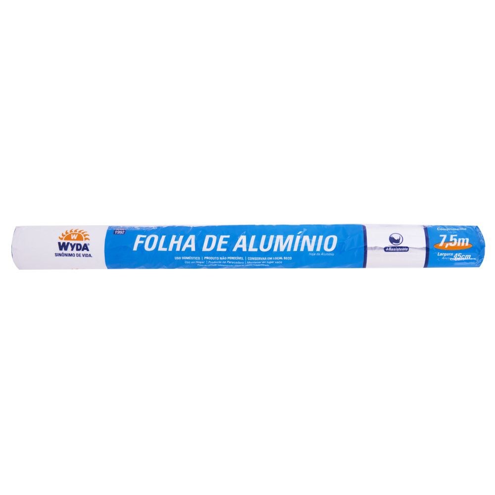 Papel Alumínio - Tamanhos