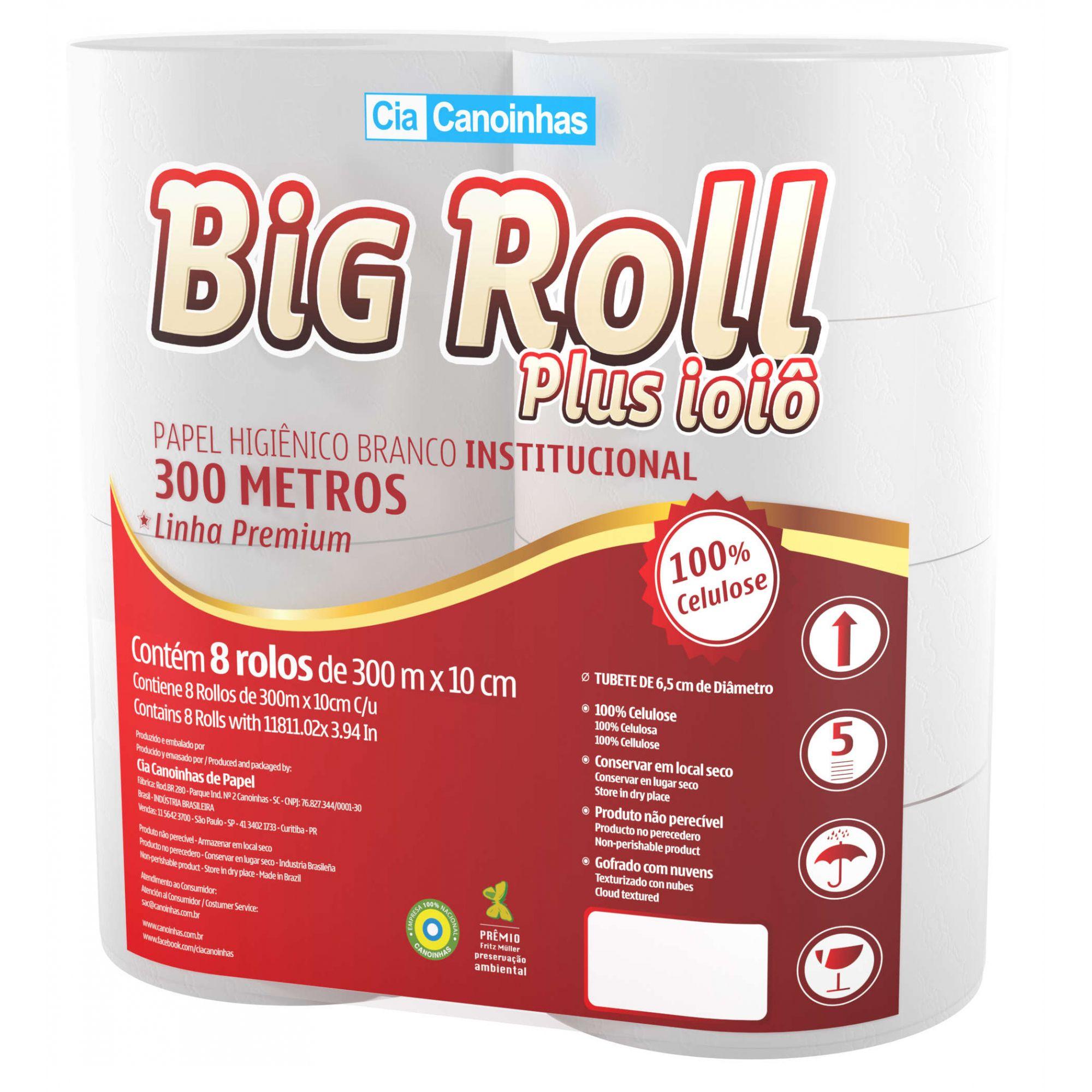 Papel Higiênico Rolão Big Roll Canoinhas