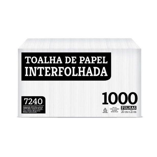 Papel Toalha Interfolhado 100% Celulose Melhoramentos