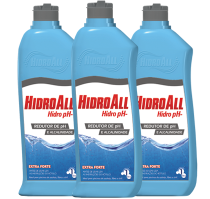 Redutor de pH para Piscina Hidroall PH-